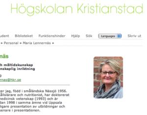 Maria Lennernäs HKR.se