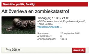 ABF zombiekurs