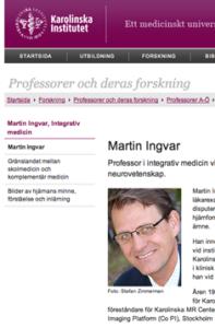Martin Ingvar, KI