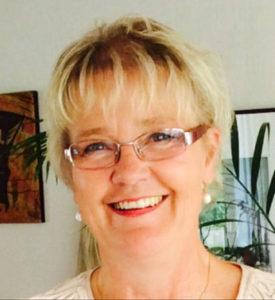 Förbundsordförande Kristina Fritjofsson på Sveriges Farmaceuter, pressfoto