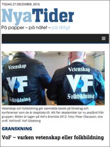 Nya Dagbladet - Vetenskap och folkbildning
