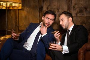 Smoking men - Crestock.com