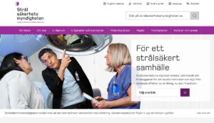Strålsäkerhetsmyndigheten.se, hemsida, 26 dec 2019